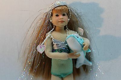 Only Hearts Club Doll Lily Rose Mermaid Doll with Pet Dolphin EUC