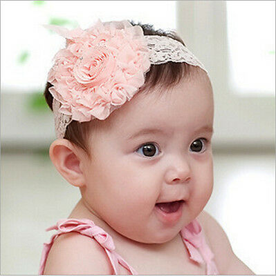 BABY Girl's Head band Flower Christmas lace Hairwear New Gift For baby