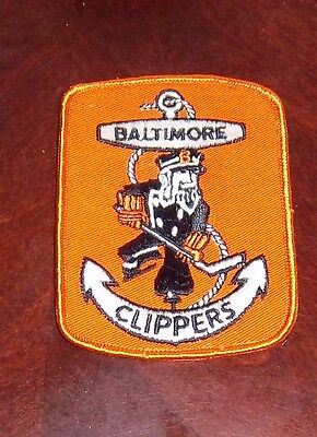 Baltimore Clippers Hockey Team patch # 2  AHL from the Woody Ryan Collection