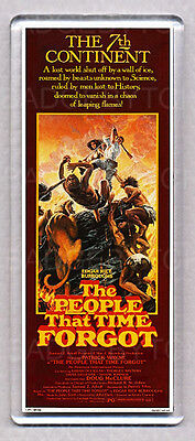 THE PEOPLE THAT TIME FORGOT LARGE movie poster 'wide' FRIDGE MAGNET  - COOL !