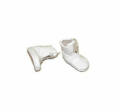 Dollhouse Dolls Cobbler Leather High Top Baby Shoes Miniatures for Doll House