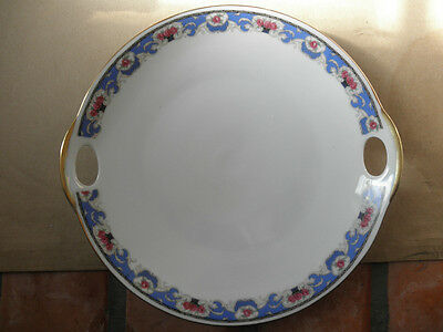 Porcelain Block China Haneled Serving Plate United Porcleian Factories Dovry CHZ