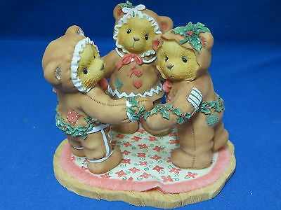 Cherished Teddies Sugar Spice Special Recipe for Our Friendship Gingerbread Bear