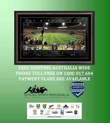 Australia 2015 ICC Cricket World Cup CHAMPIONS – Finals Panoramic – Framed