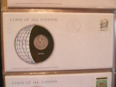 Coins of All Nations Uruguay 1 Peso 1980 UNC