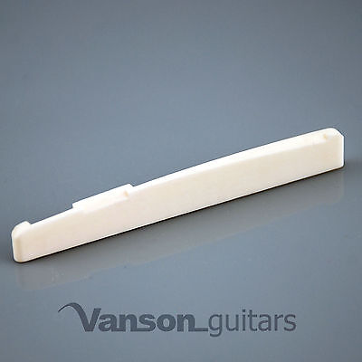 NEW High quality Vanson 72mm Compensated & Int. Bone Saddle for Acoustic Guitar