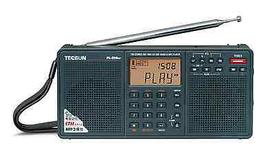 TECSUN PL398MP PLL DSP MP3 PLAYER Dual Speaker Radio       ENGLISH VERSION