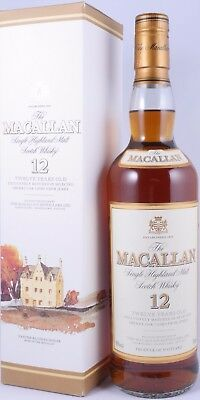 Macallan 12 Years Sherry Oak Highland Single Malt Scotch Whisky 40,0% Vol. RARE!