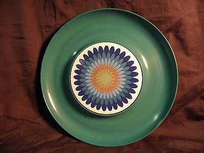 Vintage Melamine cheese platter or appetizer tray