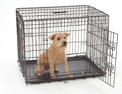 Dog Crates, Dog Cages, Puppy training Crates, Small, Medium, Large, XL, Giant UK