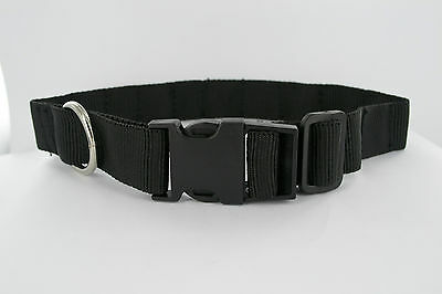 """MAGNETIC THERAPY DOG COLLAR NYLON ADJUSTABLE 13"""" x 20"""" INCH ARTHRITIS/PAIN RELIE"""