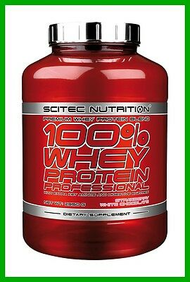 Scitec 100% Whey Protein Professional 2.35Kg Concentrate Isolate Wpi Wpc