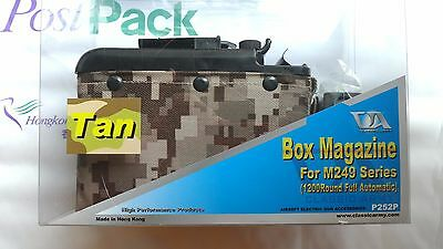 Classic Army Box Mag For 249 1200 Automatic Digit Tan Woodland P252P P252P-1