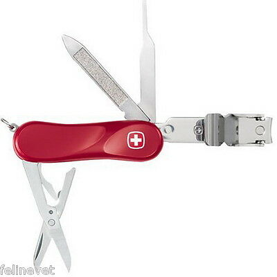 Wenger Nail Clipper AT Swiss Army Knife - Closeout Price!