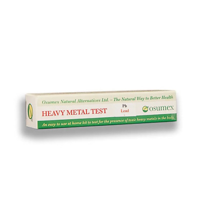 Osumex Lead toxicity home kit for poisoning and contamination 1 test