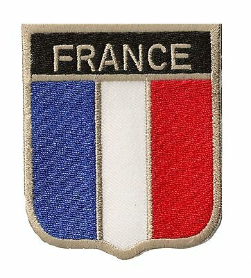 Ecusson patche FRANCE OPEX blason équipe thermocollable patch DIY brodé