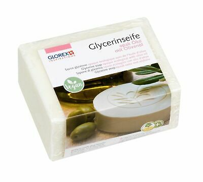 Glycerine Soap Ecological 500g opaque, Soap do it yourself