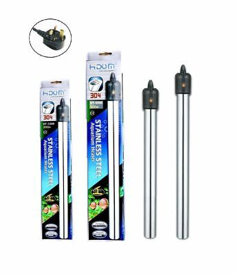Aquarium Fish Tank Heater Stainless Steel Submersible HIDOM 300w 500w