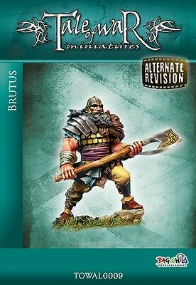 Tale Of War Miniatures Brutus The Germanic Warrior