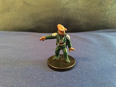 Star Wars Miniatures Champions of the Force #60/60 Varactyl Wrangler - NC