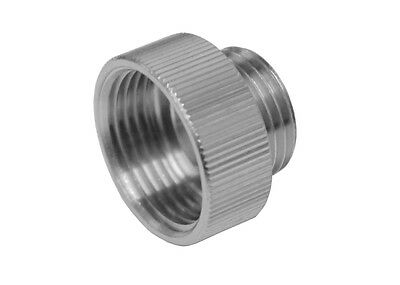 Chrome Shower Hose Reducer 3/4 Inch x 1/2 Inch | Eichelberg Adaptor | Old x New
