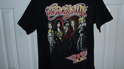 2015 AEROSMITH Tour Concert Shirt Unused Size L KISS Led Zeppelin Guns n Roses
