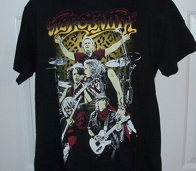 2015 AEROSMITH Concert Shirt - IBM Corporate Promo - Unworn LARGE