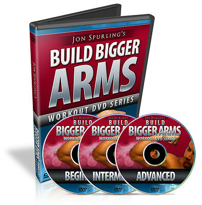 DVD Business for Sale,Resell rights for J. Spurling's Build Bigger Arms Series