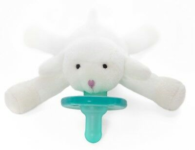 New Wubbanub Newborn Infant Baby Soothie PACIFIER Little Lamb