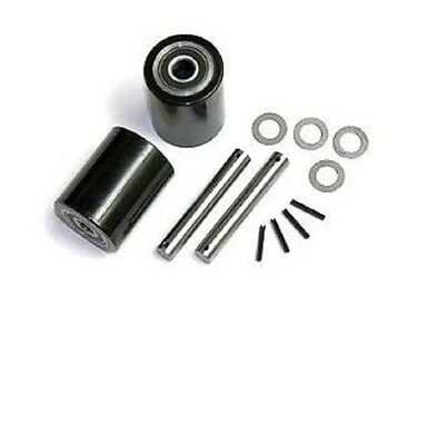 "Wesco 272748 Pallet Jack Load Wheel Kit (Includes All Parts Shown) 3"" x 3-3/8"""