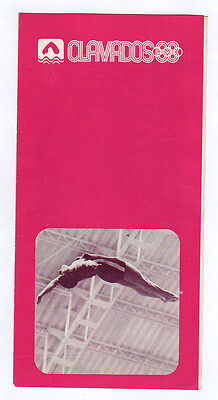 Orig.PRG / Guide   Olympic Games MEXICO 1968  -  DIVING  !!  VERY RARE