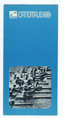 Orig.PRG / Guide   Olympic Games MEXICO 1968  -  CANOEING  !!  VERY RARE