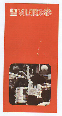 Orig.PRG / Guide   Olympic Games MEXICO 1968  -  VOLLEYBALL  !!  VERY RARE