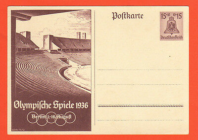 Orig.postcard    Olympic Games BERLIN 1936  //  Edition A (unused)  !!  RARE