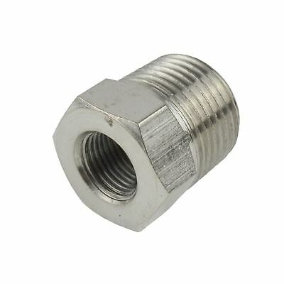 Threaded Adapter Hex Bush 3/8 BSP Male to 1/8 BSP Female Air Hose Fitting FT08