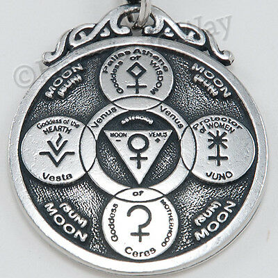 ASTEROID GODDESS CHIRON Wounded Healer PENDANT Venus Moon Sun Astrology  Necklace