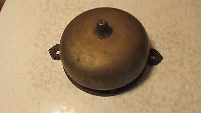 1874 Cast Iron & Brass Door Bell Parts