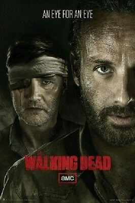 The Walking Dead Eye for an Eye POSTER 60x90cm NEW * Rick Grimes vs Governor amc