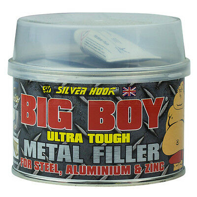 Big Boy Ultra Tough Strong Metal Body Filler Repair Steel Aluminium & Zinc Car