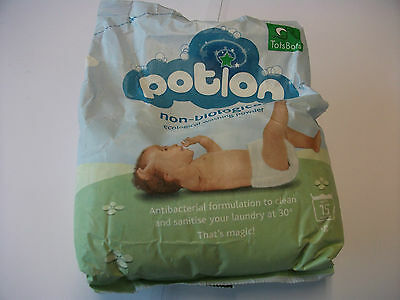 "Tots Bots ""Potion"" Non Bio Washing Powder 1kg. Special Offer - Buy 4 get 1 Free."