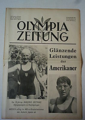 Orig.PRG / Newsletter  Olympic Games BERLIN 1936 - 13.Day/ 13.08.  !!  RARE