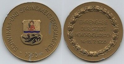 Orig.participant medal     Germany Swimming Championships 1956  !!  VERY RARE