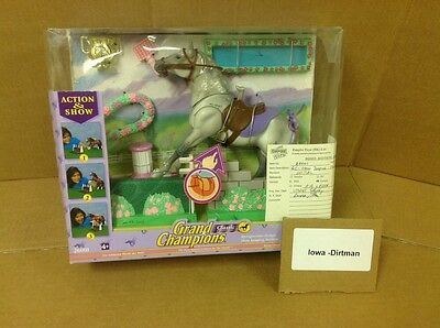 Grand Champions Action & Show 26001 Jumping Stallion Production Sample Set Used
