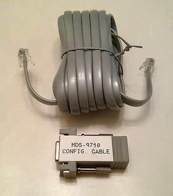 GE MDS-9710, MDS-9810, and MDS-4710 Radio Configuration and Diagnostic Cable