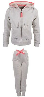 Billieblush Girls Off White & Glitter Tracksuit