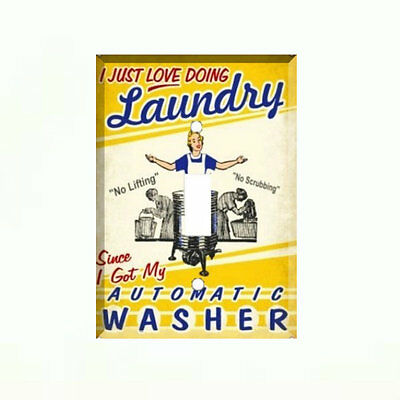 Funny Laundry Vintage Washer Light Switch Plate Wall Cover Room Decor