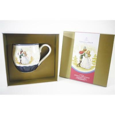 Villeroy & and Boch ANNUAL CHRISTMAS EDITION 2014 mug Cinderella NEW BOXED