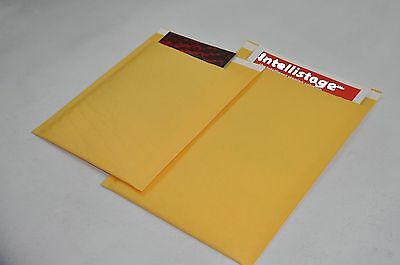 "25 #0000 4x6 small kraft bubble mailer padded envelope *usable space 4""x 5"" NEW"