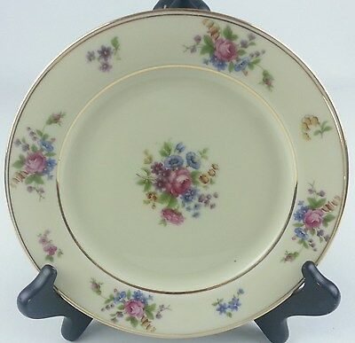 Bavaria Tirschenreuth Queens Rose Germany 4416 Bread & Butter Plate