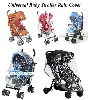Universal Baby Pushchair Stroller Raincover Pram Buggy Heavy Duty Rain Cover